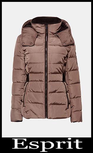 Down Jackets Esprit 2018 2019 Women's New Arrivals 22
