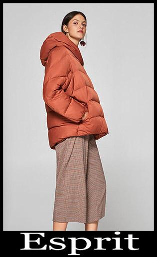 Down Jackets Esprit 2018 2019 Women's New Arrivals 26