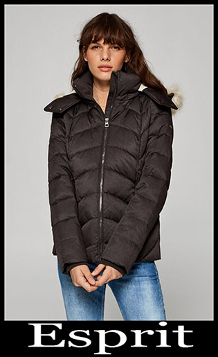 Down Jackets Esprit 2018 2019 Women's New Arrivals 6