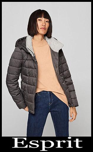 Down Jackets Esprit 2018 2019 Women's New Arrivals 8