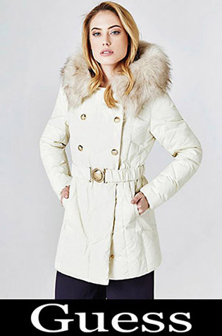 Down Jackets Guess 2018 2019 Women's New Arrivals 10