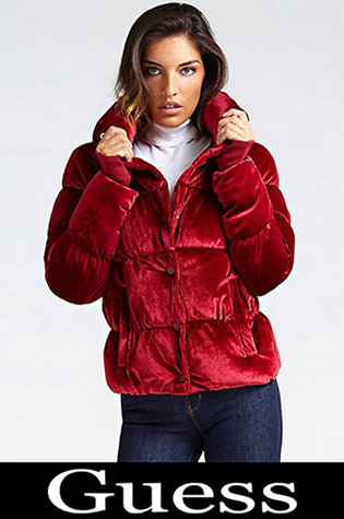 Down Jackets Guess 2018 2019 Women's New Arrivals 29