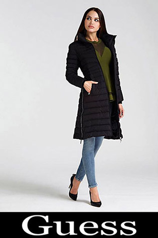 Down Jackets Guess 2018 2019 Women's New Arrivals 6