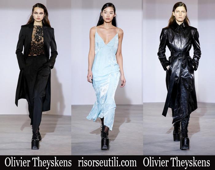 Fashion Olivier Theyskens 2018 2019 Women's New Arrivals Winter