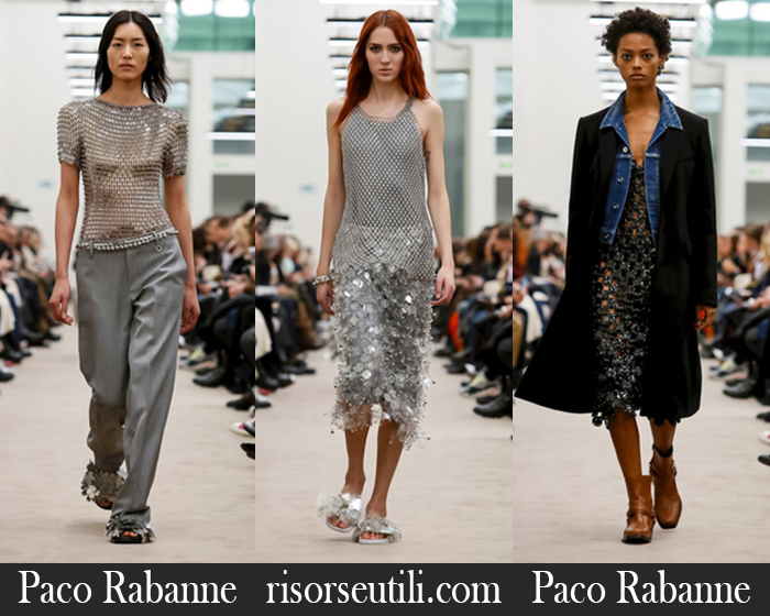 Fashion Paco Rabanne 2018 2019 Women's New Arrivals Fall Winter