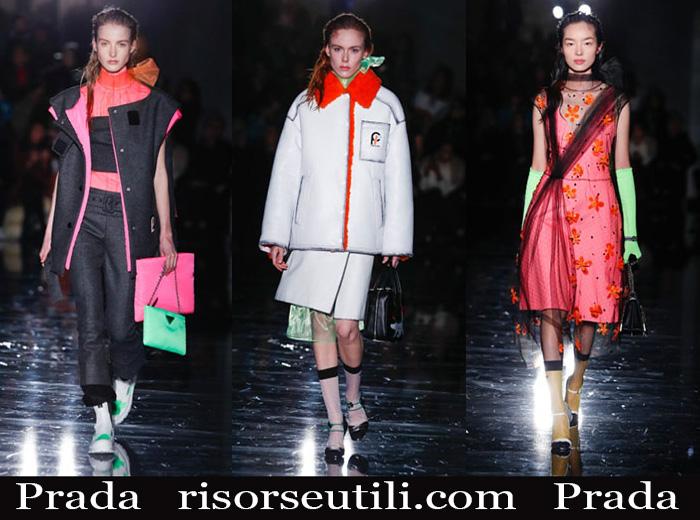 8e9575aadef7 Fashion Prada 2018 2019 women's new arrivals fall winter