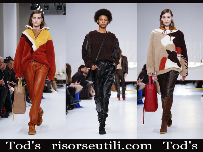 Fashion Tod's 2018 2019 women's new arrivals fall winter