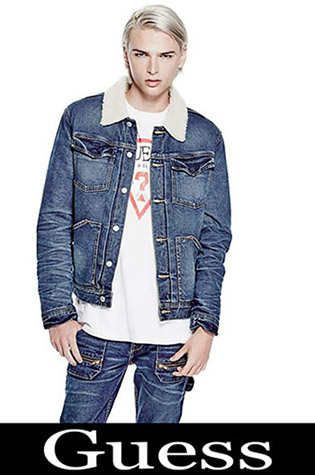Jackets Guess 2018 2019 Men's New Arrivals Fall Winter 18