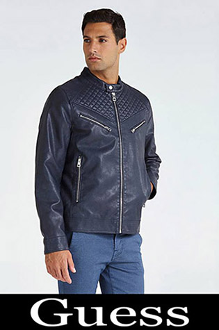 Jackets Guess 2018 2019 Men's New Arrivals Fall Winter 35