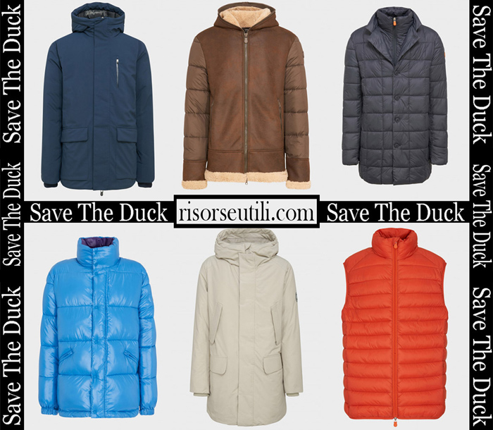 Jackets Save The Duck 2018 2019 Men's New Arrivals Winter