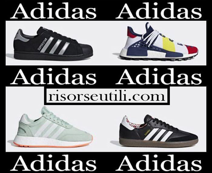 New Arrivals Adidas 2018 2019 Women's Shoes