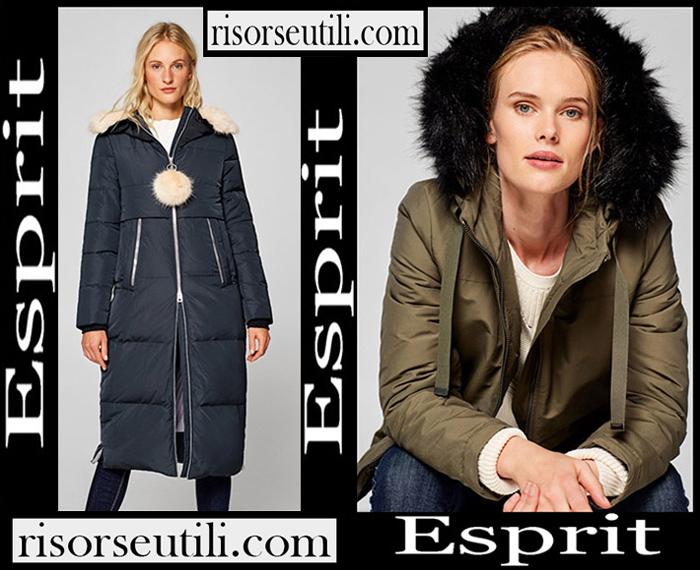 New Arrivals Esprit 2018 2019 Women's Outerwear