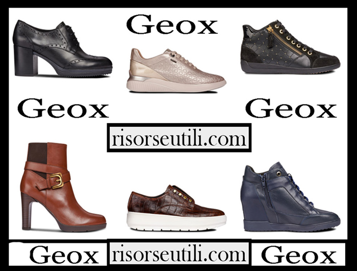 New Arrivals Geox 2018 2019 Women's Shoes