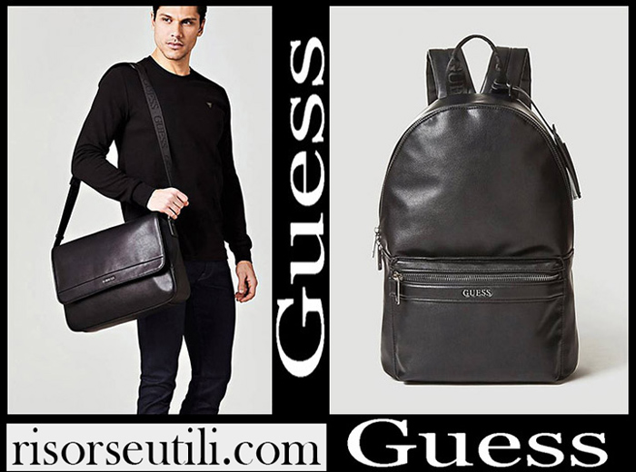 New Arrivals Guess 2018 2019 Men's Handbags