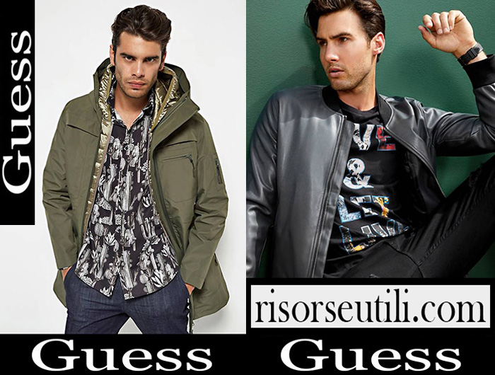 New Arrivals Guess 2018 2019 Men's Outerwear