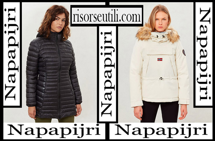 New Arrivals Napapijri 2018 2019 Women's Outerwear