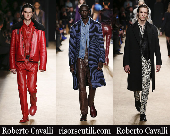 New Arrivals Roberto Cavalli 2018 2019 Men's Clothing