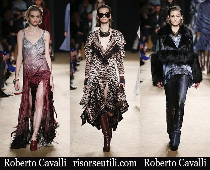 New Arrivals Roberto Cavalli 2018 2019 Women's Clothing