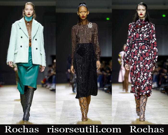New Arrivals Rochas 2018 2019 Women's Clothing