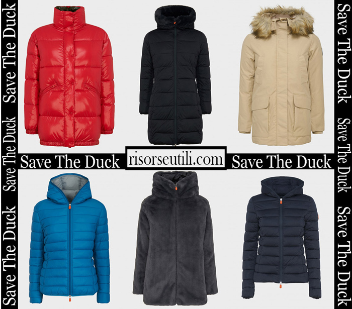 New Arrivals Save The Duck 2018 2019 Women's Outerwear