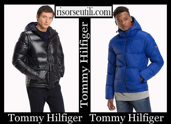 New Arrivals Tommy Hilfiger 2018 2019 Men's Outerwear