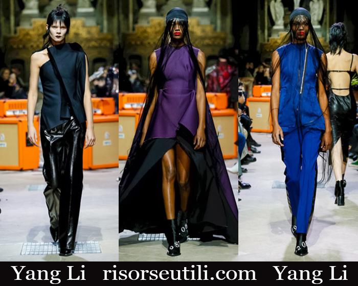 New Arrivals Yang Li 2018 2019 Women's Clothing
