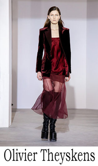 Olivier Theyskens Fall Winter 2018 2019 Womens 5