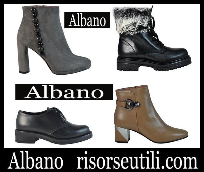 Shoes Albano 2018 2019 Women's New Arrivals Fall Winter