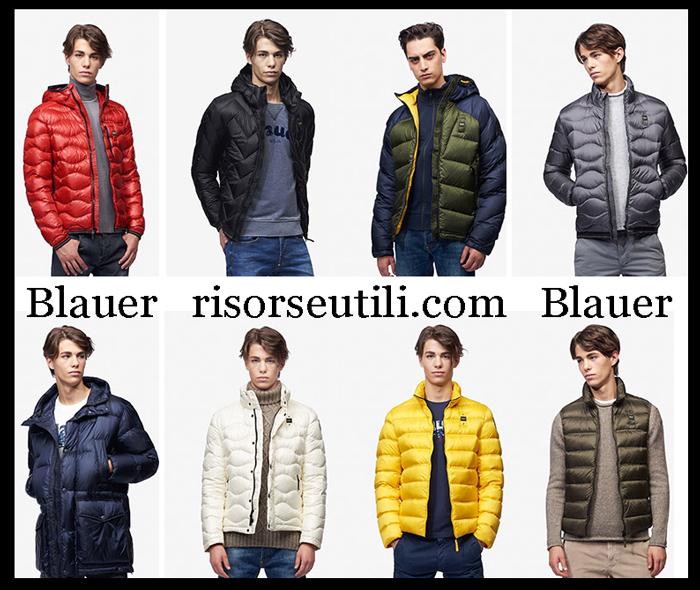 New Arrivals Blauer 2018 2019 Men's Outerwear