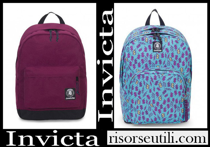 New Arrivals Invicta Backpacks 2018 2019 Girls