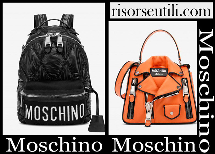 New Arrivals Moschino 2018 2019 Women's Handbags