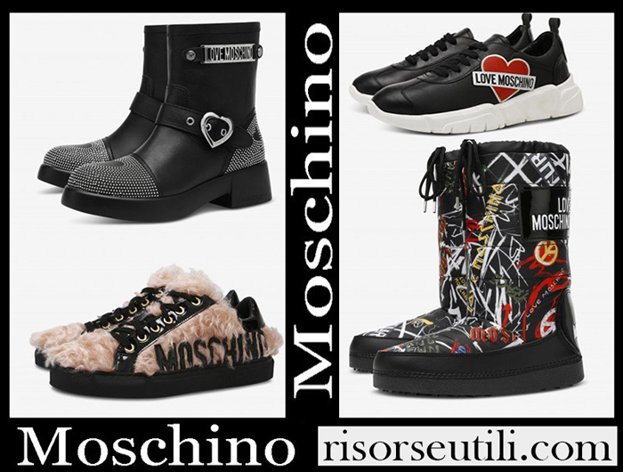 New Arrivals Moschino 2018 2019 Women's Shoes