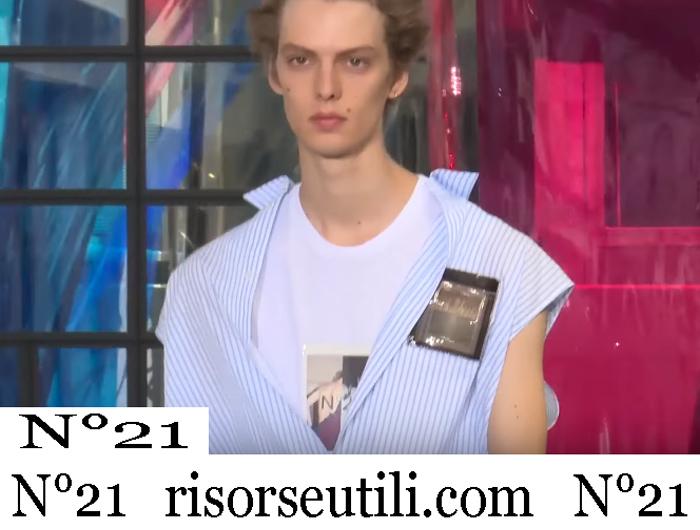 New Arrivals N21 2019 Men's Clothing