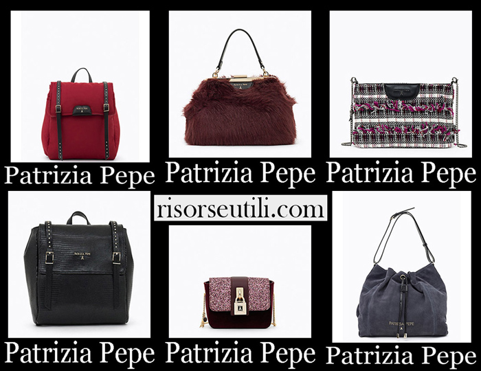 New Arrivals Patrizia Pepe 2018 2019 Women's Handbags