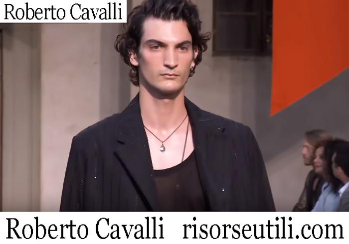 New Arrivals Roberto Cavalli 2019 Men's Clothing