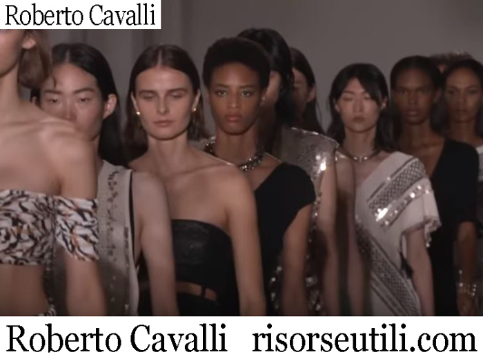 New Arrivals Roberto Cavalli 2019 Women's Clothing