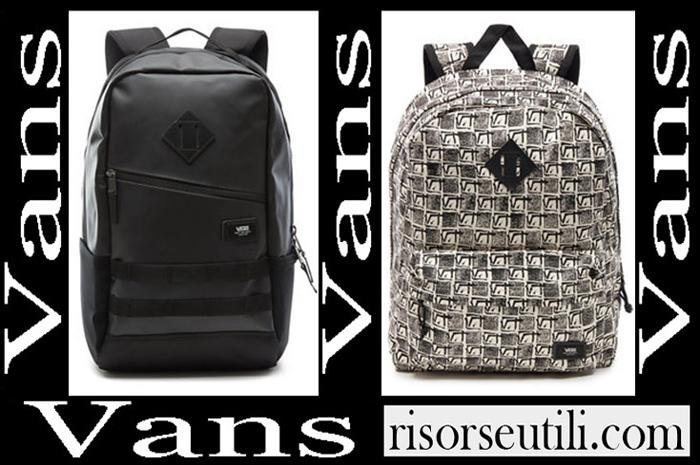 New Arrivals Vans Backpacks 2018 2019 Boys