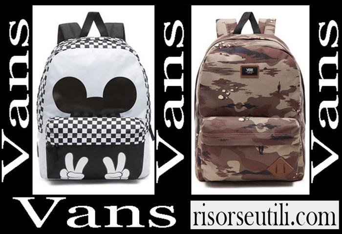 New Arrivals Vans Backpacks 2018 2019 Girls