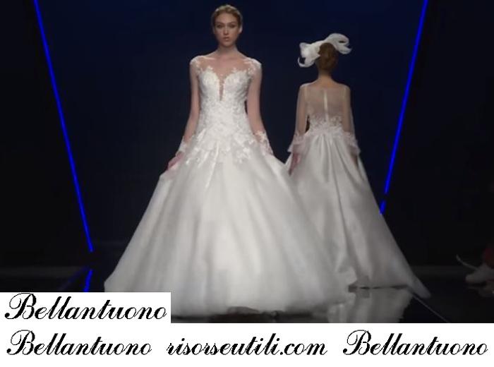 Bridal Bellantuono 2019 Fashion Show Spring Summer Wedding