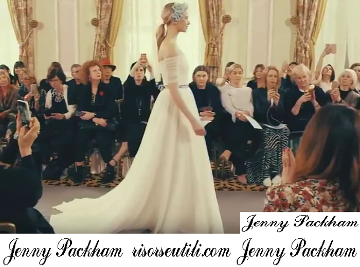 Bridal Jenny Packham 2019 Fashion Show Spring Summer Wedding