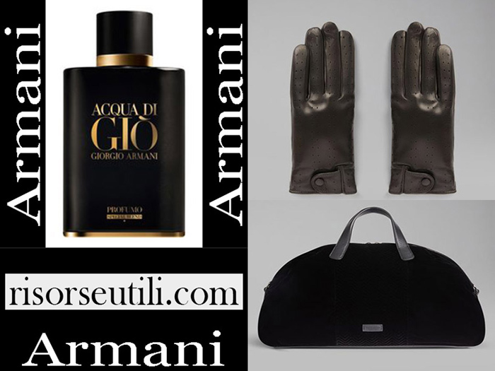 New Arrivals Armani 2018 2019 Men's Accessories