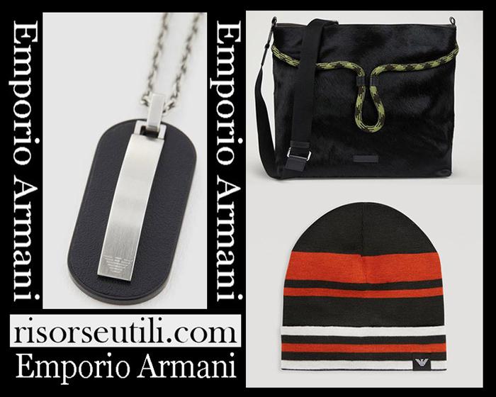 New Arrivals Emporio Armani 2018 2019 Men's Accessories