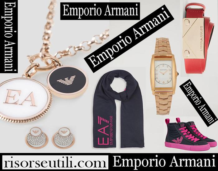 New Arrivals Emporio Armani 2018 2019 Women's Accessories