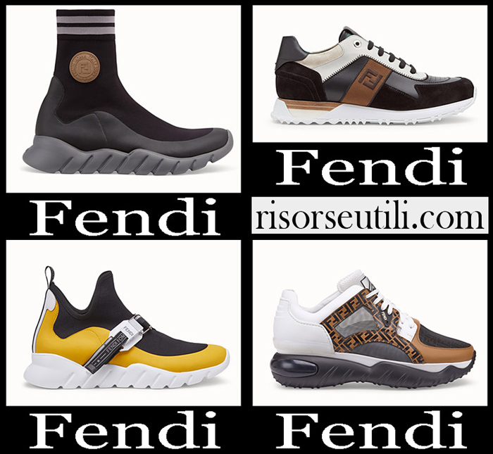 New Arrivals Fendi 2018 2019 Men's Shoes
