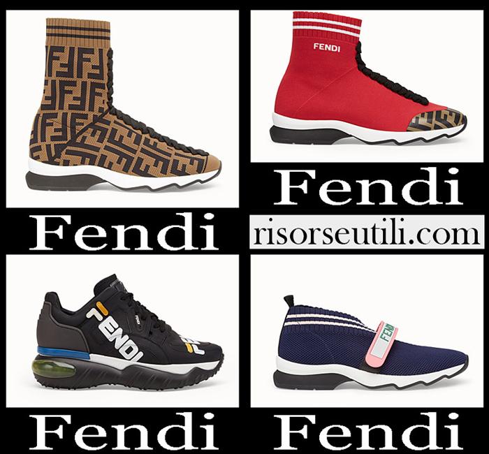 New Arrivals Fendi 2018 2019 Women's Shoes