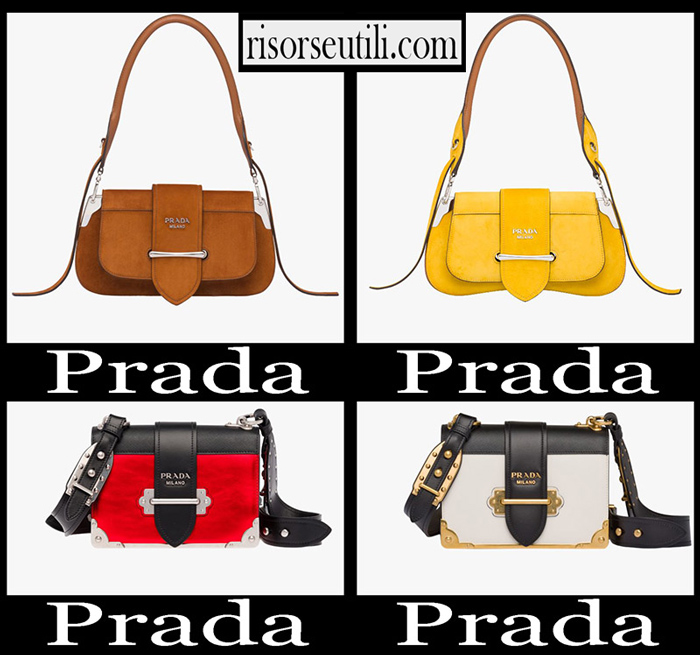 New Arrivals Prada 2018 2019 Women's Accessories