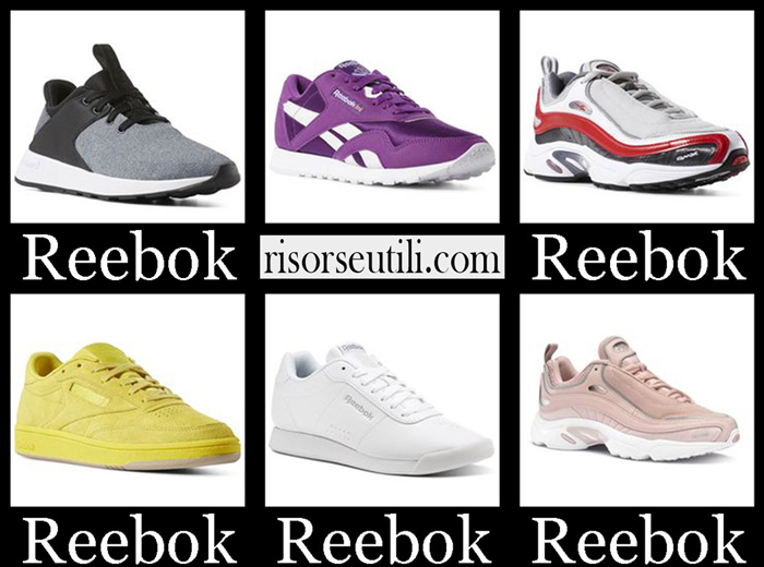 New Arrivals Reebok 2018 2019 Women's Shoes