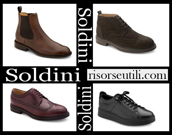New Arrivals Soldini 2018 2019 Men's Shoes