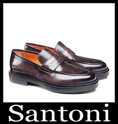 Shoes Santoni 2018 2019 Men's New Arrivals Winter 12