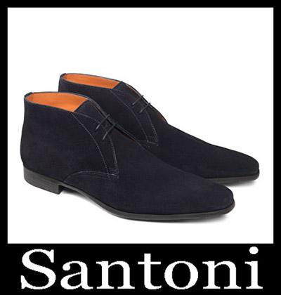 Shoes Santoni 2018 2019 Men's New Arrivals Winter 13